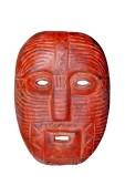 11118018-mascara-de-madera-roja